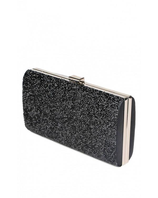c7d79f12ce16 Элегантный клатч черного цвета купить в интернет-магазине Роял-бутик ...
