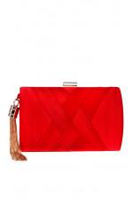 Элегантный красный клатч