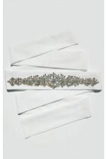 Свадебный пояс с камнями