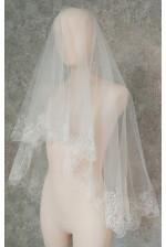 Фата свадебная с вышивкой