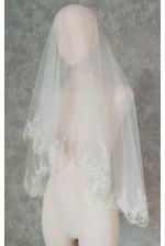 Свадебная фата с бисером