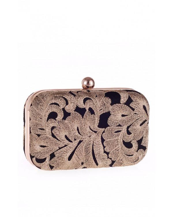 d13667a06d9d Клатч с золотой вышивкой купить в интернет-магазине Роял-бутик ...
