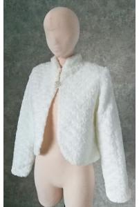 Шубка свадебная с длинным рукавом