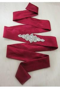 Пояс к свадебному платью