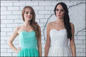 Какое выбрать вечернее кружевное платье?