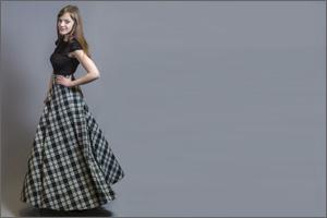 Модные цвета длинных юбок