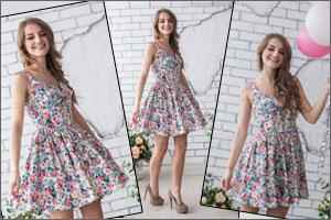 Модные фасоны платьев на каждый день лето 2016
