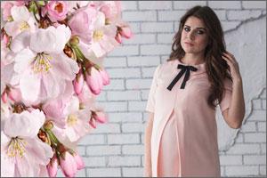 Стильные и модные летние платья для беременных