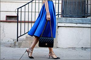 Юбки миди опять в моде: как их носить