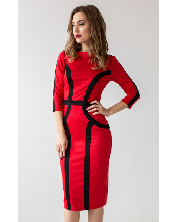 4f6e43ab5906 Стильное платье повседневное купить в интернет-магазине Роял-бутик ...