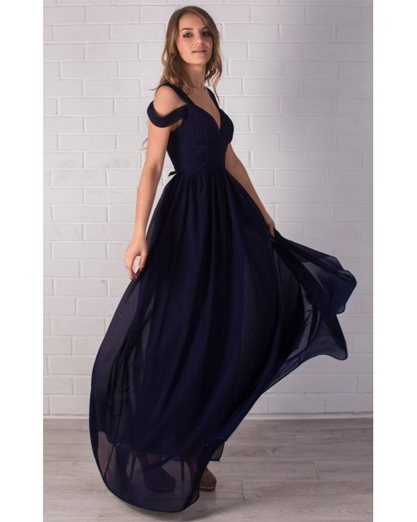 933419a546a Длинное платье с разрезом купить в интернет-магазине Роял-бутик ...