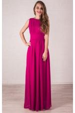 Платье в греческом стиле фуксия