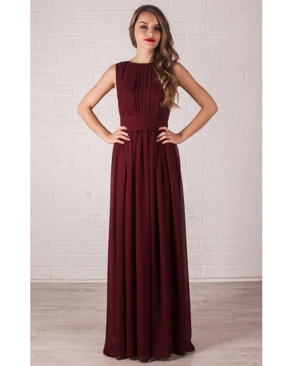 56e5d670257 Платье цвета марсала купить в интернет-магазине Роял-бутик - Платья ...