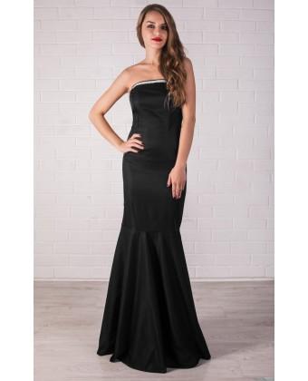 Платье русалка черное