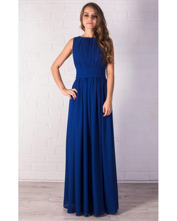 6613527aa6a Платье вечернее синего цвета купить в интернет-магазине Роял-бутик ...
