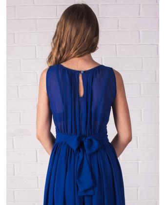 Платье вечернее синего цвета