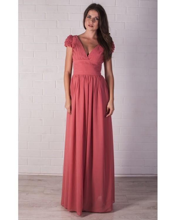 Платье шифоновое с выкройкой