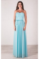 Вечернее платье на корсете