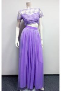 Завышенная юбка с топом