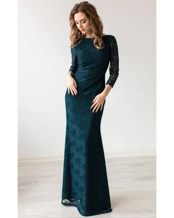 73c5aa4460f Вечернее платье изумрудного цвета купить в интернет-магазине Роял ...