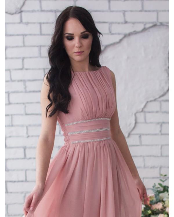 540fc279e2a4 Вечернее платье розовый кварц купить в интернет-магазине Роял-бутик ...