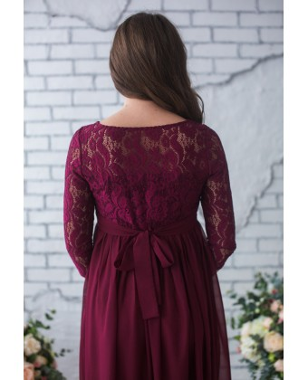 Платье для беременных с рукавом