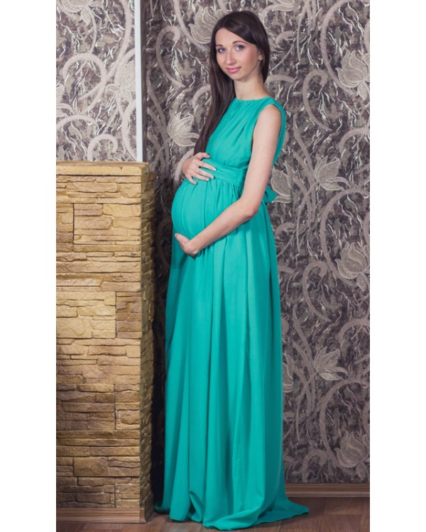 Вечерние платья для беременных в греческом стиле