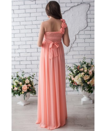 Вечернее платье для животика