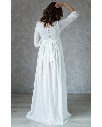 Элегантное платье на роспись для беременных