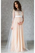 Красивое свадебное платье для беременных