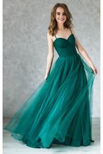 Вечернее платье на корсете с чашками