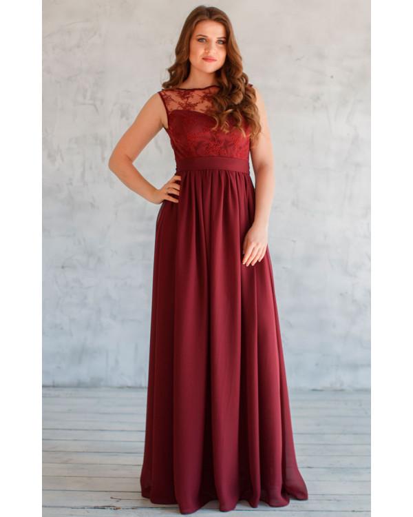 Купить вечернее платье кружевом