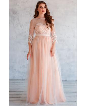 Винтжное свадебное платье