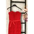 Красное вечернее платье б/б