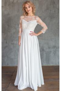 Нежное платье на роспись
