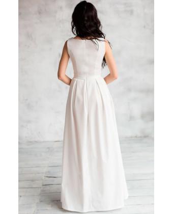 Свадебное платье трапеция