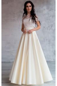 Свадебный топ и юбка солнце