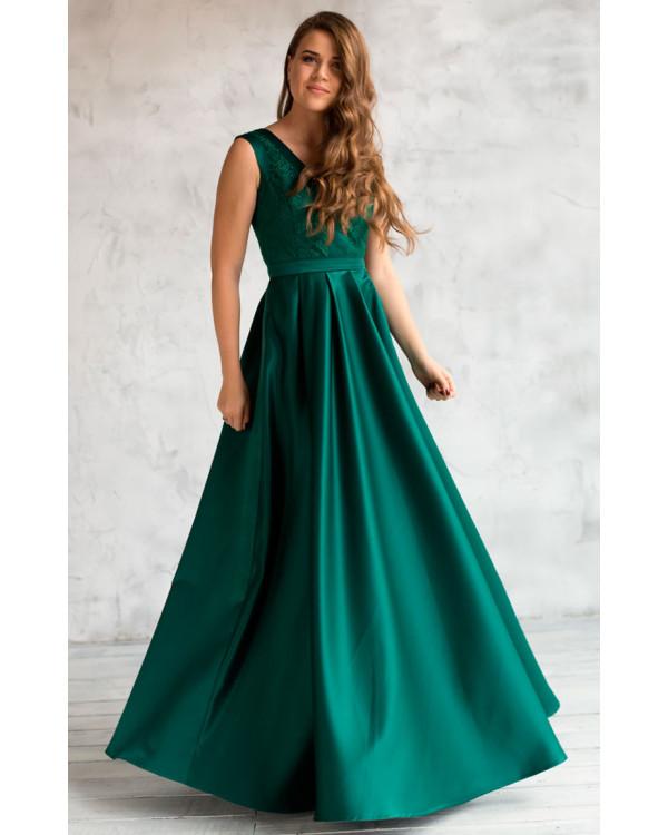 10393243e0ade Красивое изумрудное вечернее платье купить в интернет-магазине Роял ...