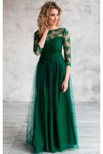 Пышное вечернее платье