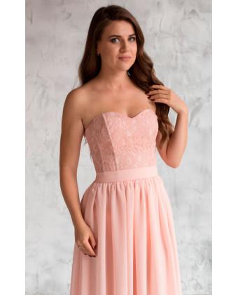 Платье розовый кварц