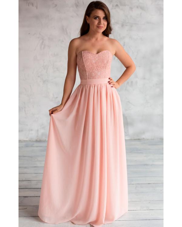 76771ff28906 Платье розовый кварц купить в интернет-магазине Роял-бутик ...