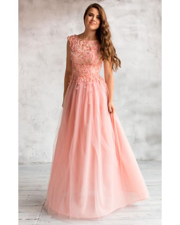 cb21654a79e Вечернее платье с открытой спиной купить в интернет-магазине Роял ...