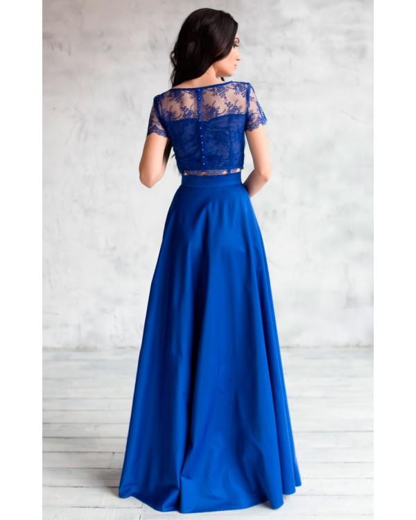 Купить вечернее платье топ и юбка