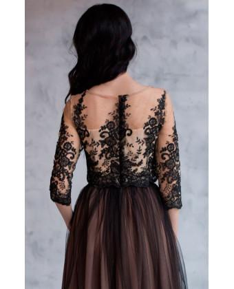 Вечерний костюм топ и юбка