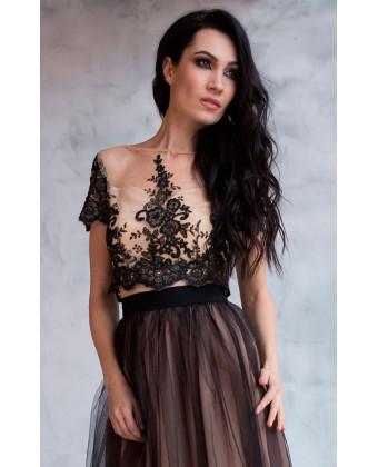 Необычное платье на выпускной