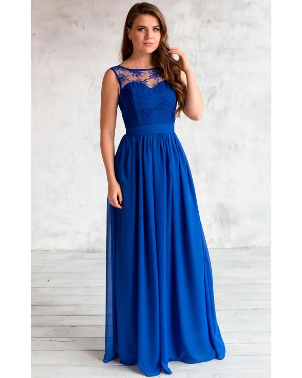 62cc127e896 Нежное вечернее платье на выпускной купить в интернет-магазине Роял ...