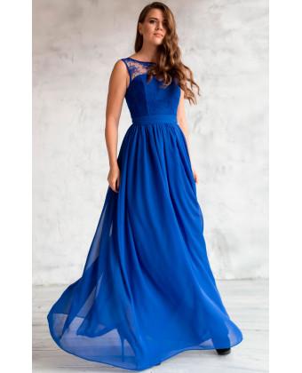 Нежное вечернее платье на выпускной