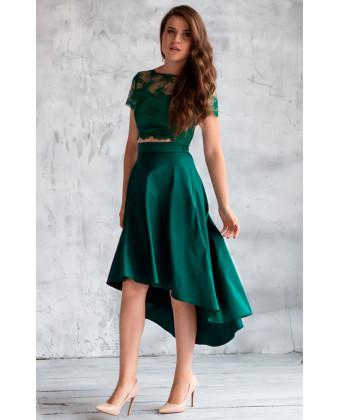 Необычная юбка миди