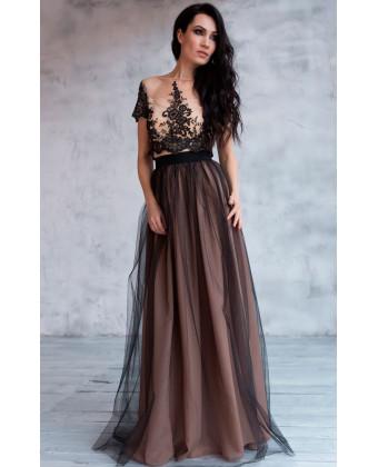 Пышная юбка длинная