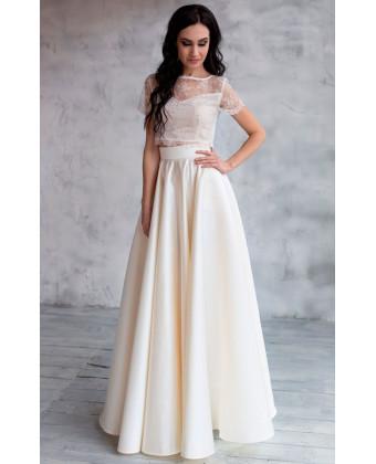Свадебная юбка солнце